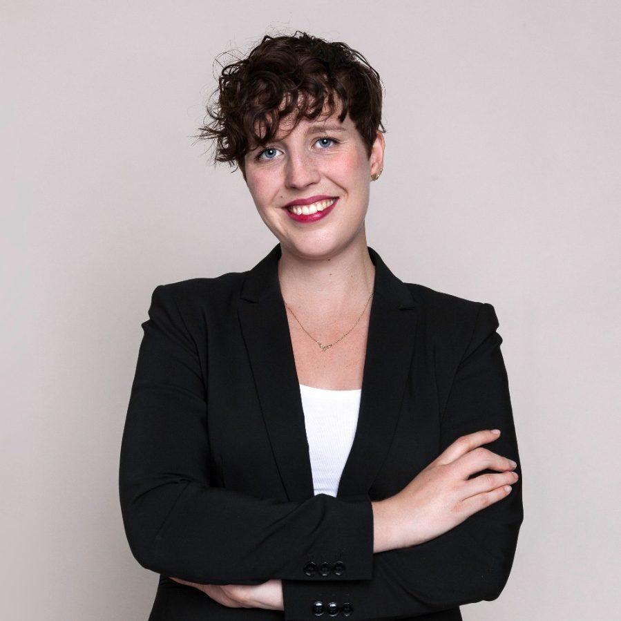 Hannah Monderkamp ist Social-Media-Analystin und arbeitet im Audience-Engagement-Team am Listening Center der Rheinischen Post.