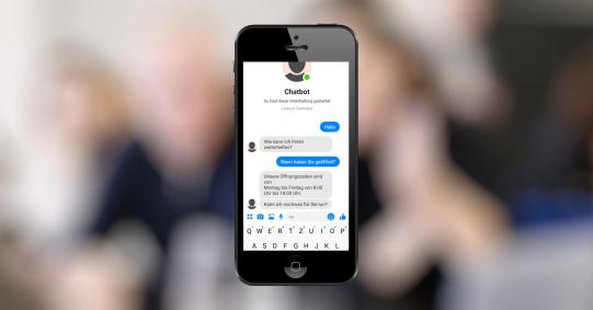 Chatbots können im Kundenservice nützlich sein, oder für Medienunternehmen.