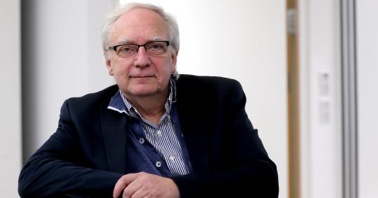 Prof. Claus Leggewie. Foto: Georg Lucas.