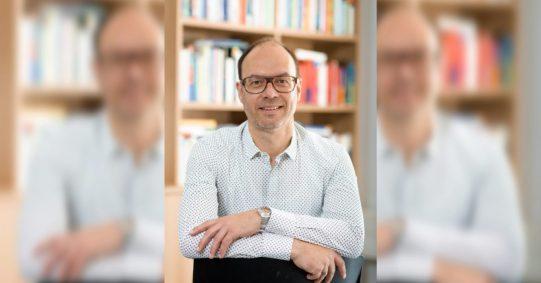 Prof. Dr. Christoph Bieber, Universität Duisburg-Essen. Foto: Prof. Christoph Bieber
